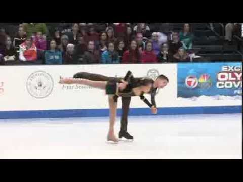 Jasmine and Joshua Fendi,  2014 U.S. Figure Skating Championships, Juvenile Pairs