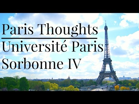 Paris Thoughts | Sorbonne University