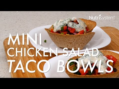 Chicken Taco Salad Bowls Youtube
