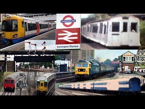 Trains + more @ London Kensington Olympia station