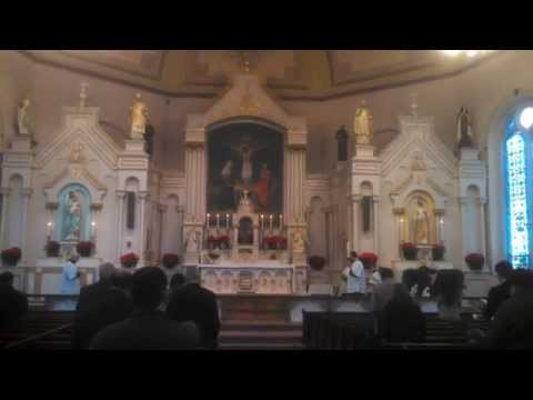 Hark the Herald Angels Sing - Recessional Hymn of Christmas Day Traditional Latin Mass