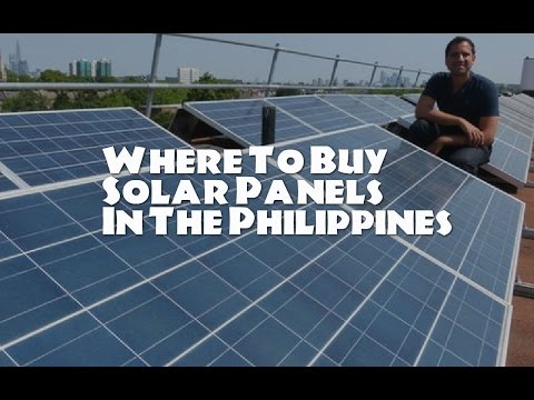 Where to buy Solar Panels in the Philippines