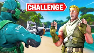 Eliminating Male Skins ONLY Challenge In Fortnite