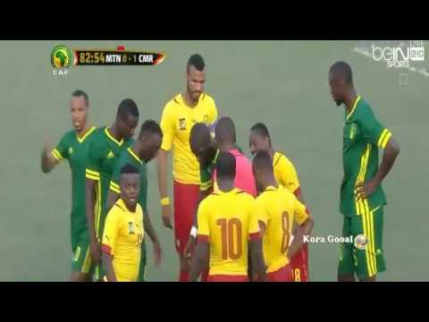 Mauritania vs Cameroon 0 1 Full highlights 2016