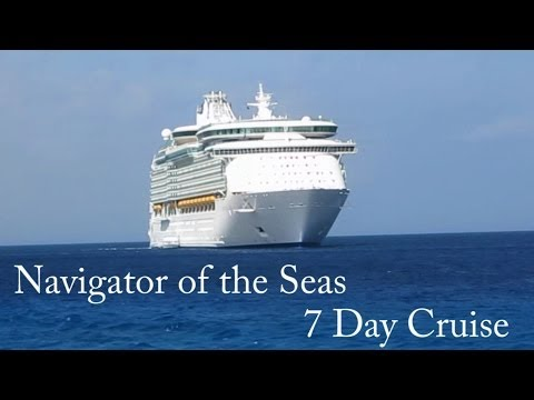 Navigator of the Seas 7 Day Cruise Highlights