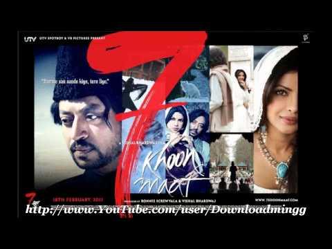 Tere liye *Full Song* 7 Khoon Maaf (2011) - Suresh Wadkar