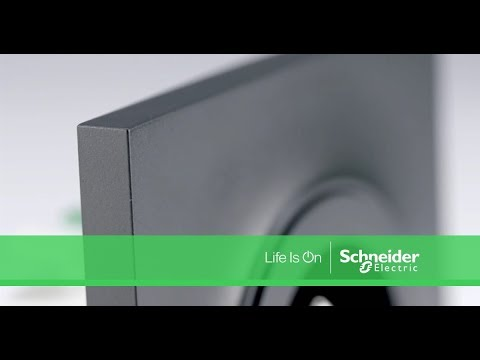 gamme appareillage odace schneider electric youtube. Black Bedroom Furniture Sets. Home Design Ideas