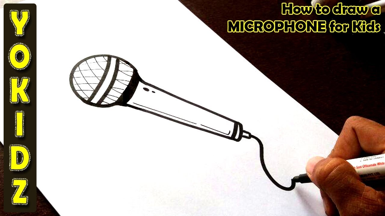 Microphone Drawing – Get commercial use microphone graphics and vector designs.
