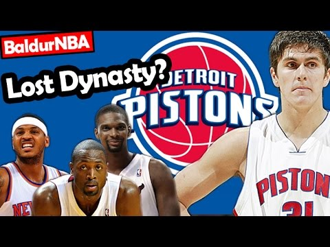 Did the Pistons Miss Out On a Dynasty in the 2003 Draft? - BaldurNBA