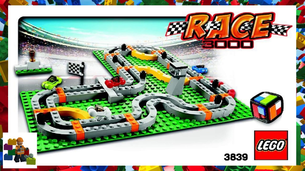 Lego 3839 Race 3000 Game Complete