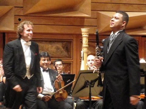 David Medina. Corigliano Concerto for Clarinet. 2009