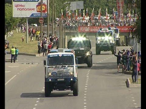 Набережные Челны - часть Шёлкового Пути! Как встречали караван гонщиков на родине КАМАЗ-Мастера