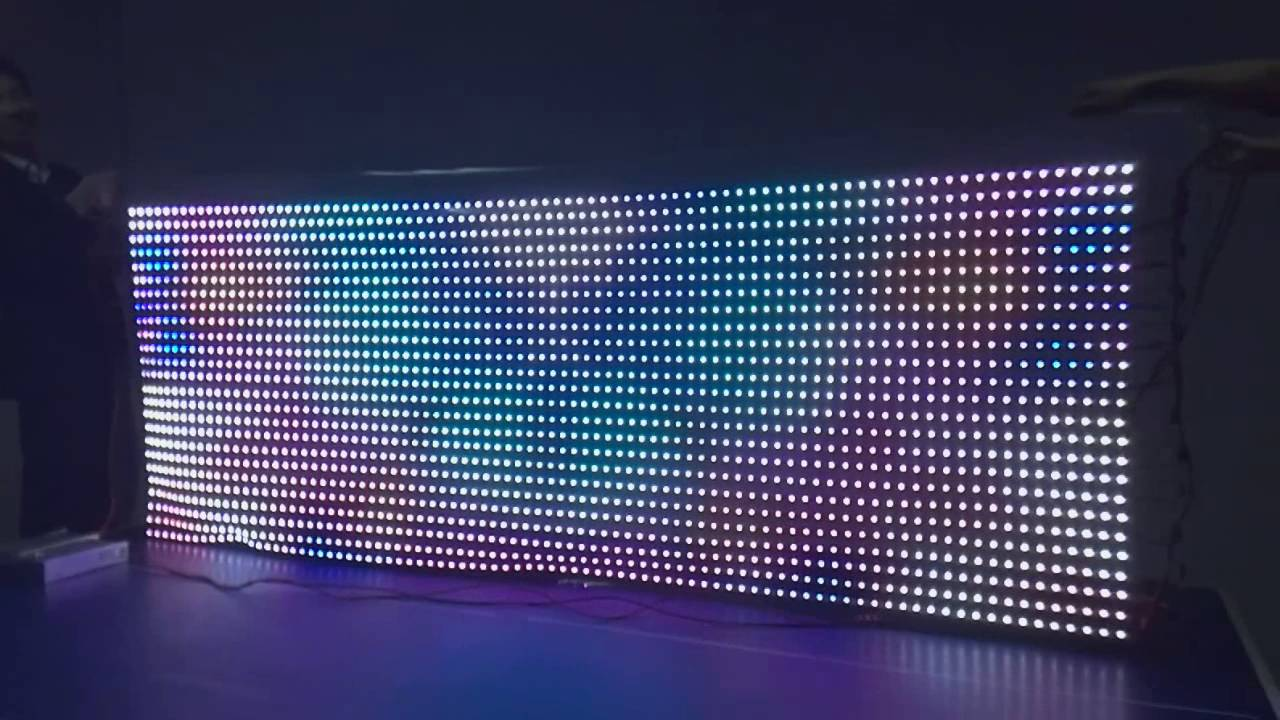LED Curtain Display 5050 Digital H801SE LPD8806 WS2811WS2812 Available
