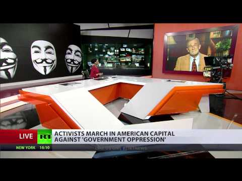 Ray McGovern interview with RT International on massive Million Mask March