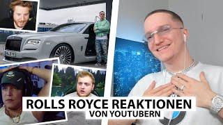 Justin reagiert auf Reaktionen zum Rolls Royce von Monte, Trymacs, Unge & co. | Reaktion