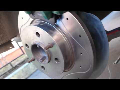 Cмотреть видео онлайн Задние дисковые тормоза на классику
