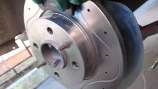 видео дисковые тормоза на ваз 2107 задние