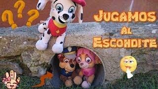 Paw Patrol ¡JUGAMOS AL ESCONDITE! Juguetes Patrulla Canina en español