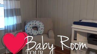 Baby Nursery Tour Baby Boy