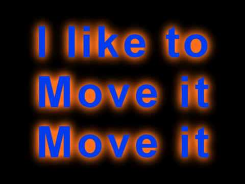 I Like To Move It, Move It, Madagascar Lyrics