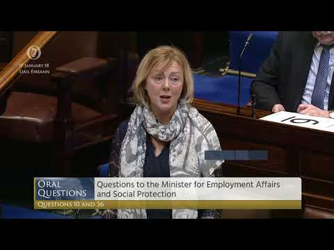 Catherine Connolly questions the Minister for Social Protection on exceptional needs payments
