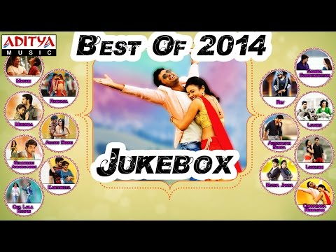 Best of 2014 Telugu Movie Hit Songs  Jukebox