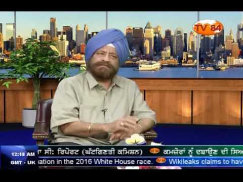RSS's Agenda Of Wiping Out Sikhism From India   Gurcharan Singh Babbar Journalist   YouTube 360p