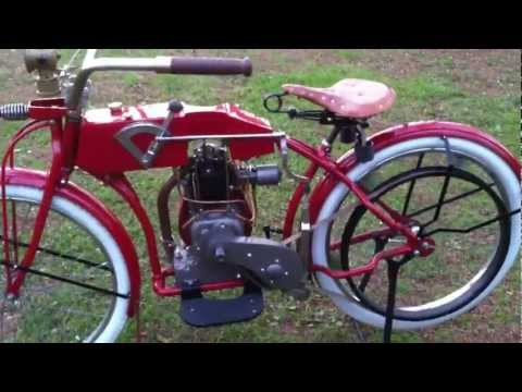Antique Motorcycle Replica
