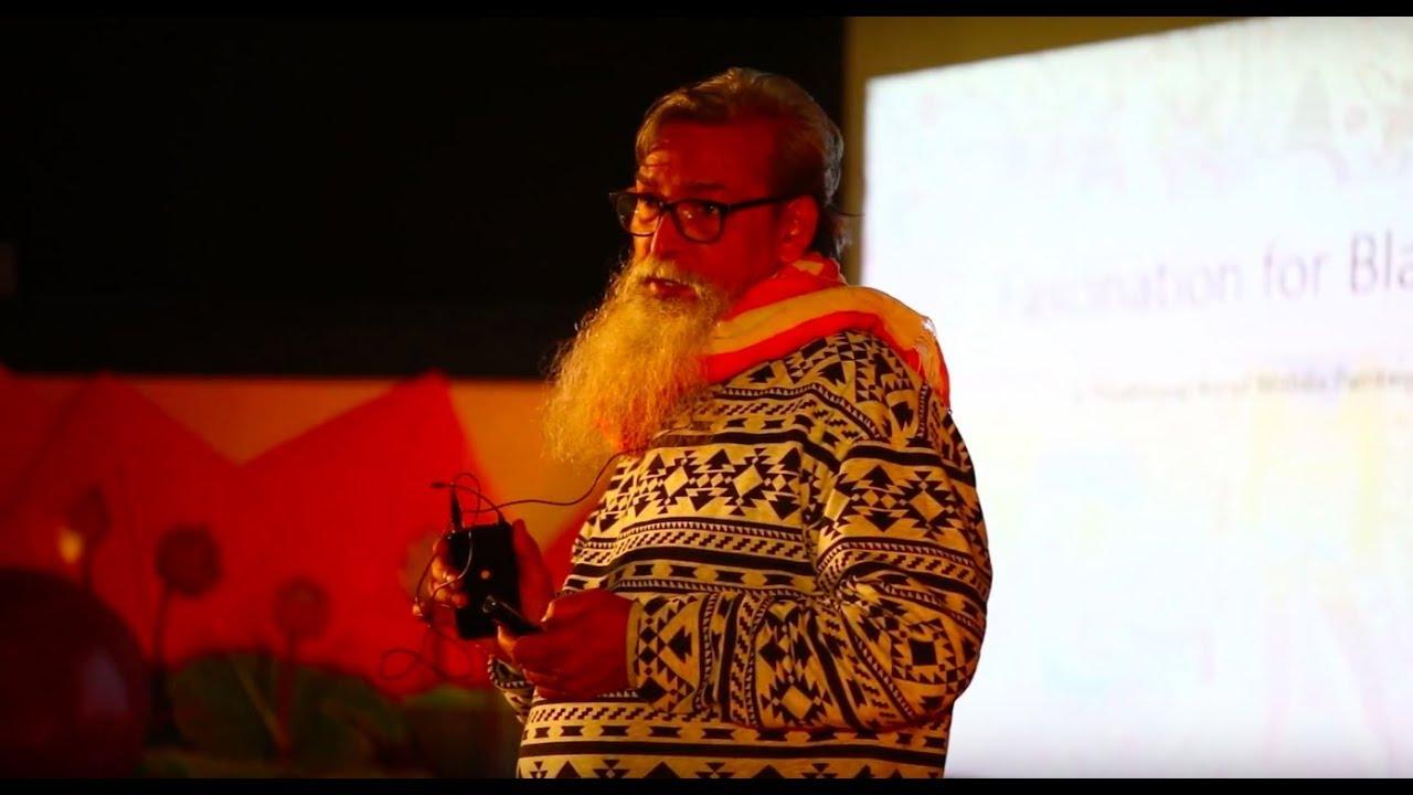 "Fascination for the color ""Black"" | Santosh Das | TEDxLNMIIT"