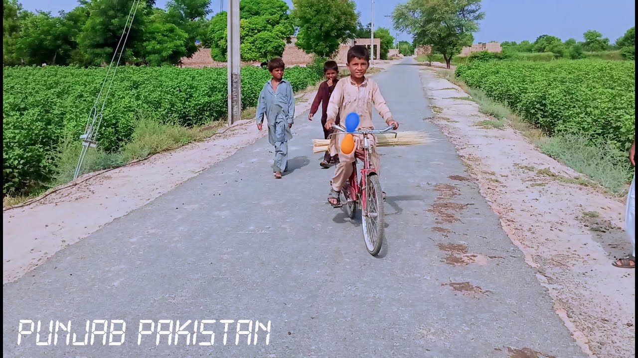 Most Amazing Life of Villagers - Village life PUNJAB PAKISTAN (EID GIFT for  Foreigners)