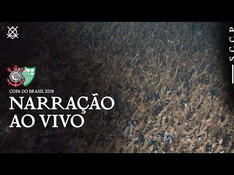 AO VIVO - NARRAÇÃO CORINTHIANS x AVENIDA-RS - COPA DO BRASIL 2019