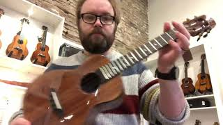 Demo of Flight Phantom tenor ukulele