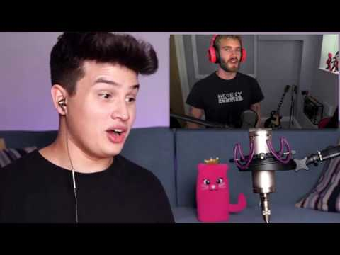 Vocal Coach Reaction to Pewdiepie Singing Despacito Meme Review