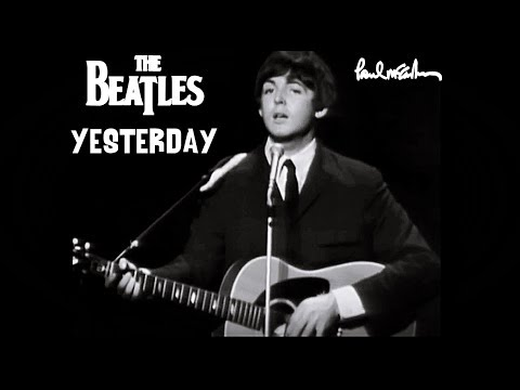 The Beatles - Yesterday (Blackpool Night Out, 1965) + (Thank you Ringo, that was wonderful!)