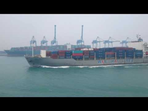 MV. Wan Hai 302 Arr. Port Klang North Port