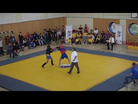 Deutsche Wushu Meisterschaft 2018 - Sascha Wagner Sanda