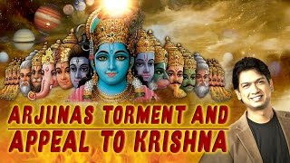 Download Hindi Video Songs - Arjuna's Torment & Appeal To Krishna | Vijay Prakash | Devotional