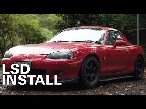 Mazda MX5 Build: Fitting An Torsen LSD