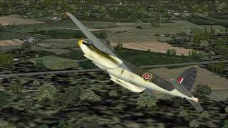 "FS9 de Havilland DH98 ""Mosquito"" by Just Flight!"