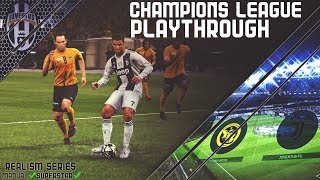 [TTB] PES 2019 - Champions League Realism Series - Juventus vs Young Boys - Ep1