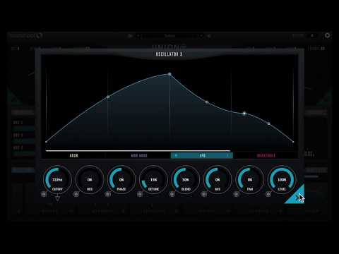How to make a pad sound with Union [Synthesizer, Ableton, Cubase, FL studio, Logic Pro X]