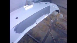 Как отремонтировать бампер 2(http://malarka.ru/ - здесь так же можете узнать много полезной информации по покраске автомобиля и множество совето..., 2015-12-28T17:47:32.000Z)