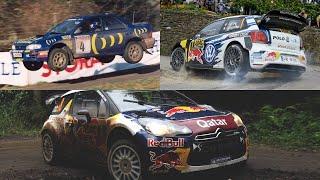 LOS 10 MEJORES AUTOS DE RALLY DE LA WRC DE TODOS LOS TIEMPOS