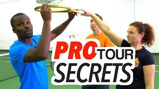 ATP TOUR PRO SECRETS TO AMAZING BACKHAND VOLLEYS