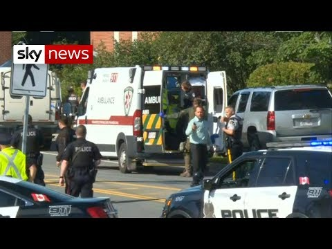 BREAKING NEWS: Four people killed in Canada shooting