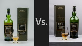 Whisky Video #16: Ardbeg Uigeadail Vs Ardbeg Corryvreckan