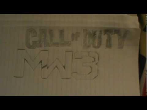 Let's Draw # 4 - Call Of Duty : Modern Warfare 3