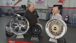 BBS President and Director of Engineering with Dave Bowman on Motorhead Garage TV show in 2015.  Worth watching to hear and see about BBS technology and engineering behind the CI-R and FI-R wheels.