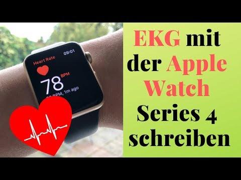 EKG mit der Apple Watch schreiben - Einrichten und erster Eindruck
