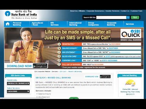 Sbi online balance enquiry youtube - Balances online roset ...